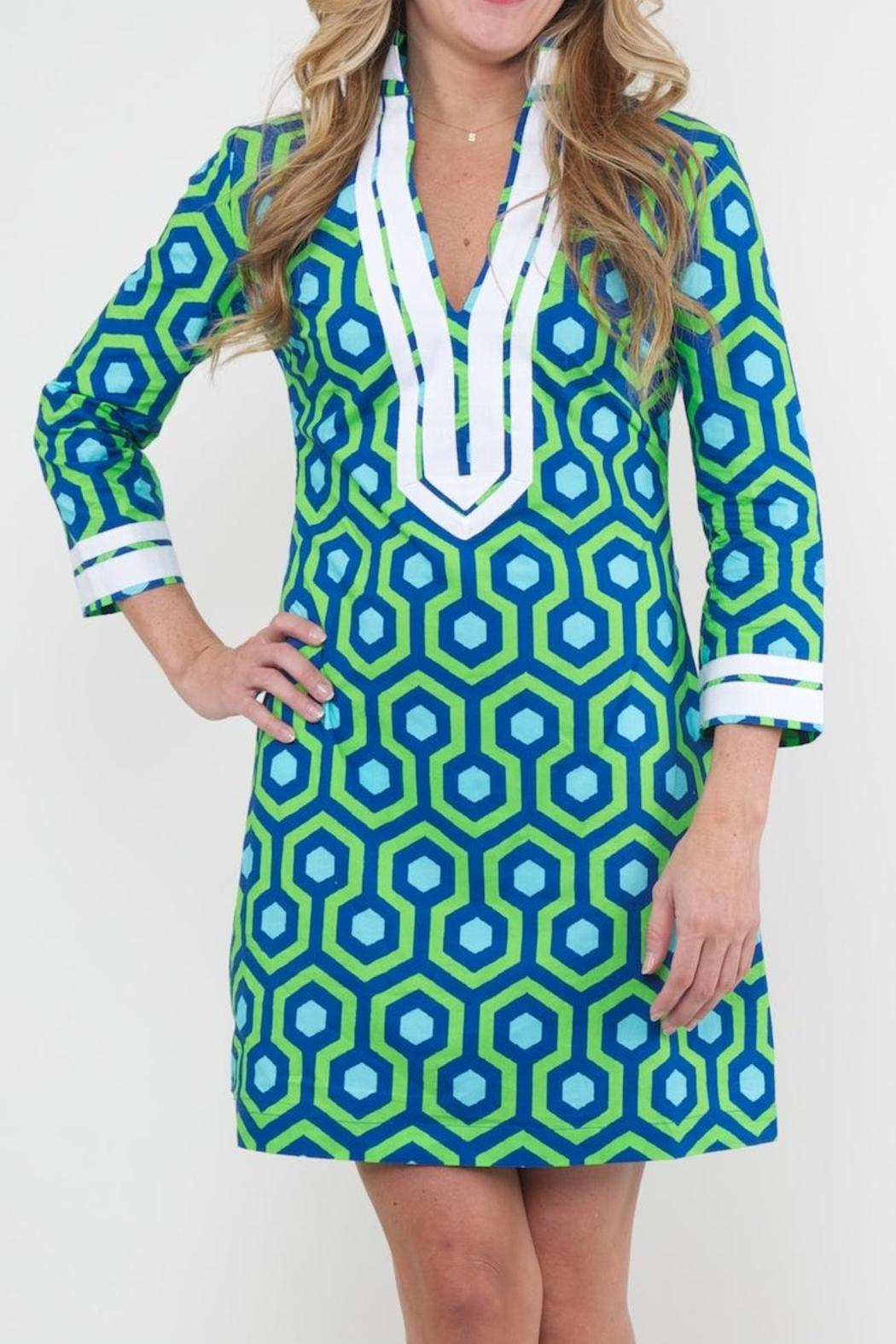 Lauren Gold Palm Beach Tunic Front Cropped Image