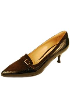 Shoptiques Product: Brown Leather Heel