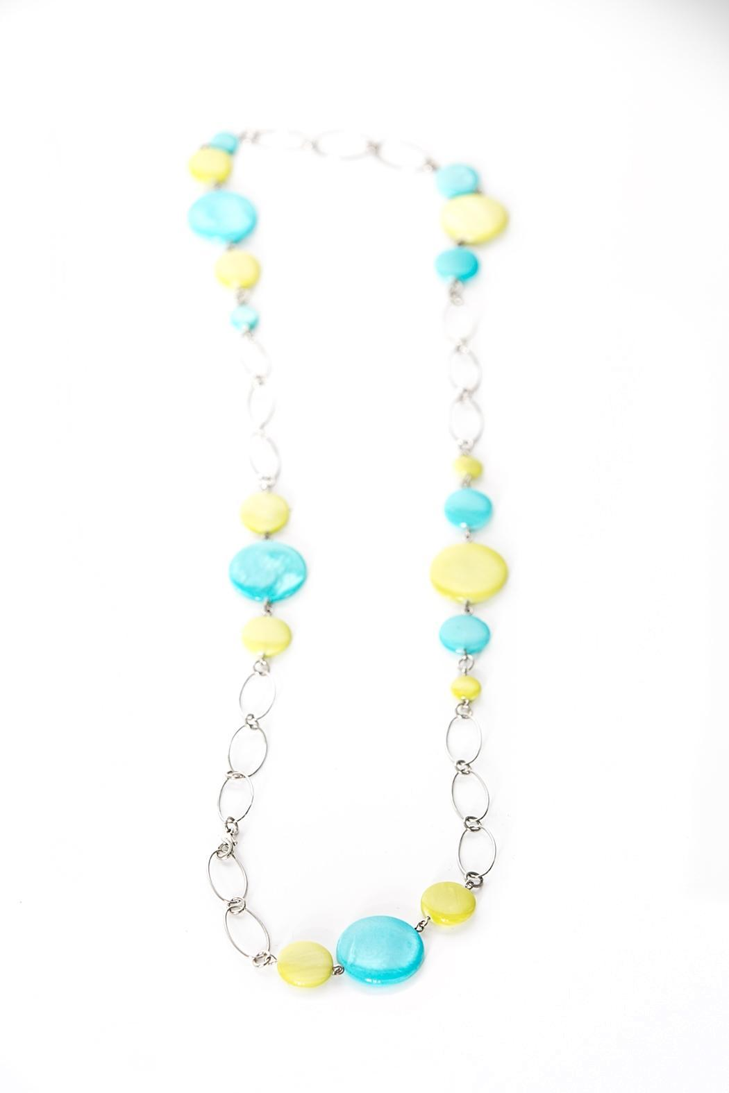 Working Actress Productions Colorful Chain Necklace - Main Image