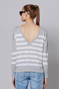 360Sweater Stripe Sweater - Alternate List Image