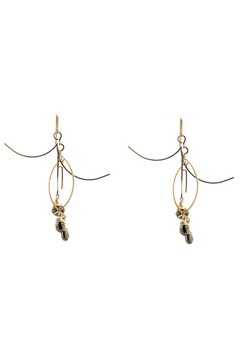 Shoptiques Product: Sticks Stones Earrings Small