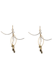 ZIA Boutique Sticks Stones Earrings Small - Front cropped