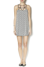 Coveted Clothing Zig Zag Dress - Front full body