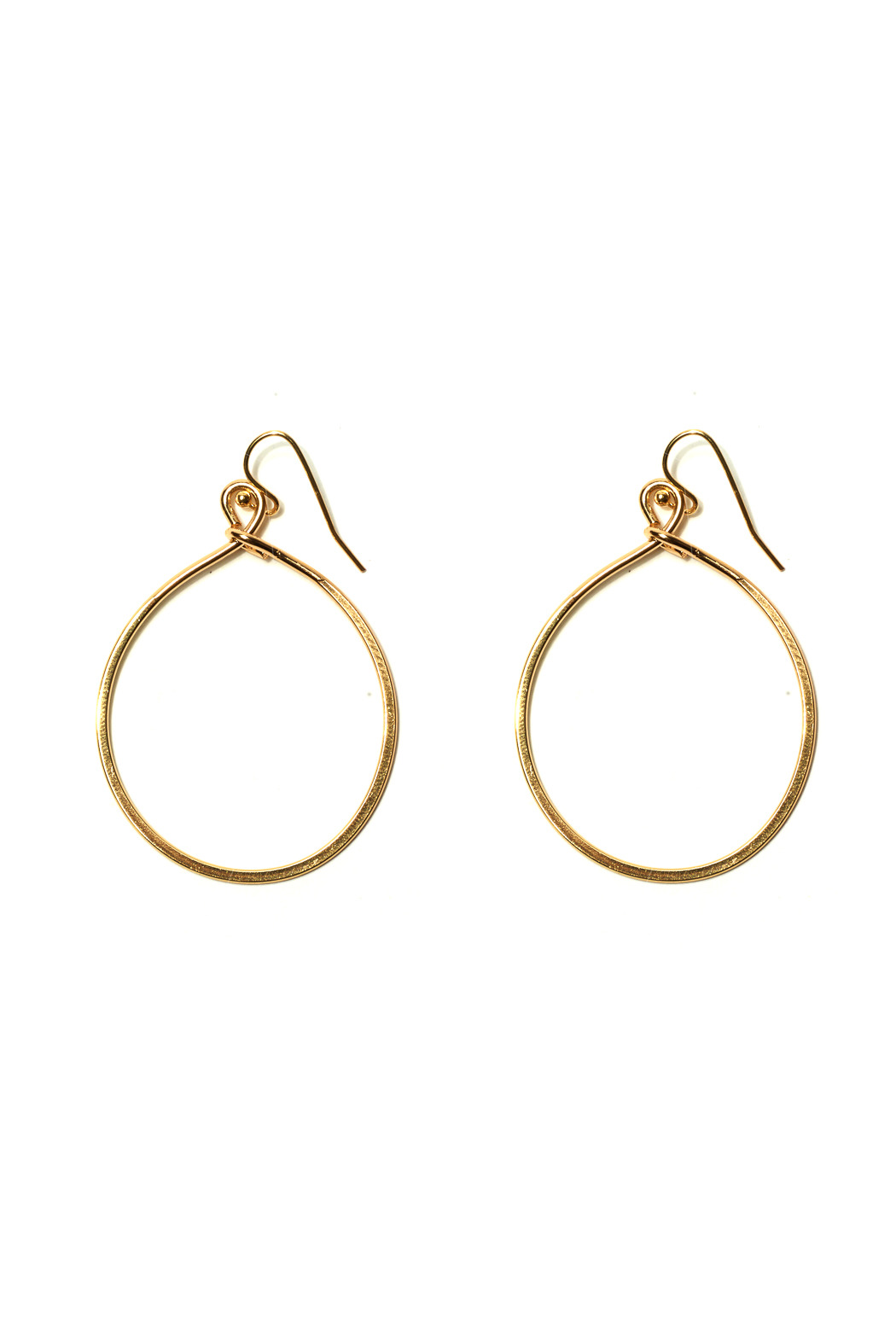 Nolan Small Circle Earrings - Front Cropped Image