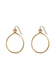 Nolan Small Circle Earrings - Front cropped