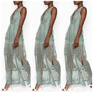 Unknown Factory Lace Maxi - Instagram Image