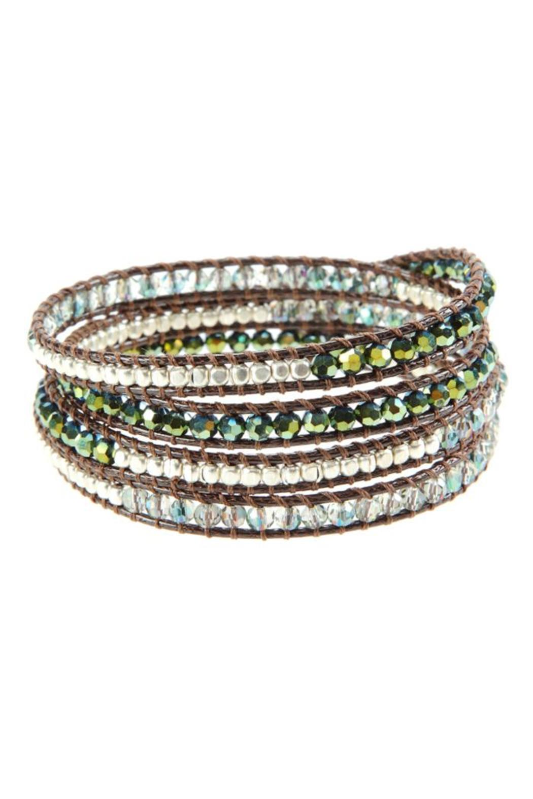 Ananda Leather Wrap Bracelet - Main Image