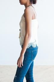 Bishop + Young Crochet Tank - Front full body