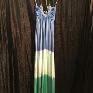 Unknown Factory Sky Maxi Dress - Instagram Image