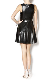 Hot Gal Perforated Vegan Dress - Side cropped