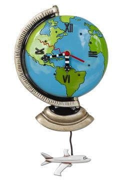 Allen Designs Studio World Globe Clock - Alternate List Image