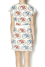 Pinkyotto Bicycle Shift Dress - Back cropped