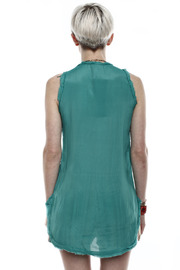Baci Sequin Tank - Back cropped