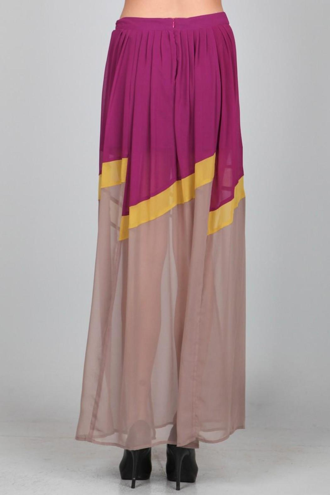 ark co color block maxi skirt from cleveland by april