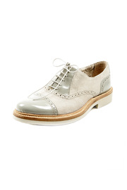Shoptiques Product: Grigio Saddle Shoe