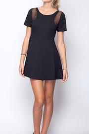 Gentle Fawn Mesh Cutout Dress - Product Mini Image