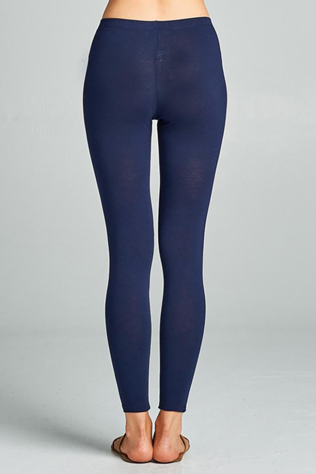 0 styleholic Cotton Jersey Leggings - Front Full Image