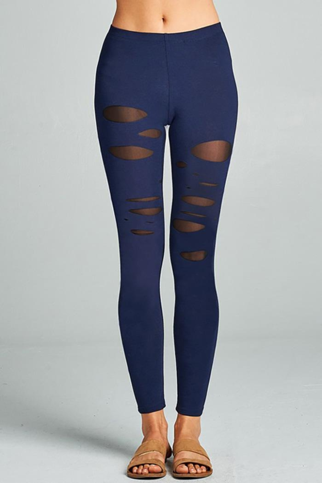 0 styleholic Cotton Jersey Leggings - Main Image