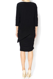 Last Tango Little Black Ruched Dress - Side cropped