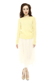 Shoptiques Product: Long Layered Skirt - Front full body