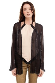 Shoptiques Product: Sheer Beaded Cardigan