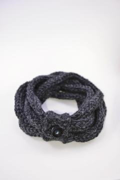 Local Artist  Finger-Knit Infinity Scarf - Product List Image