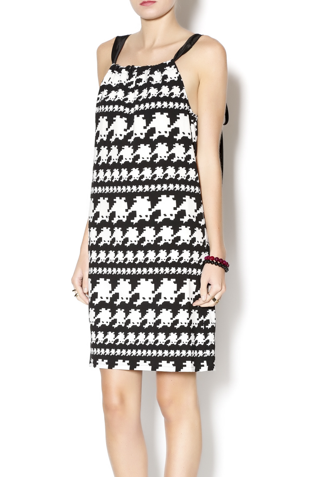 Jade Houndstooth Dress From Kentucky By The Farmers Daughter Boutique Shoptiques