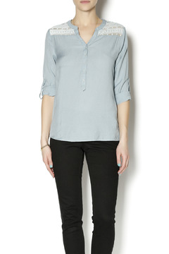 Poema Embroidery Adorned Top - Product List Image