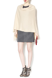 Alashan Cashmere  Cashmere Cape - Front full body