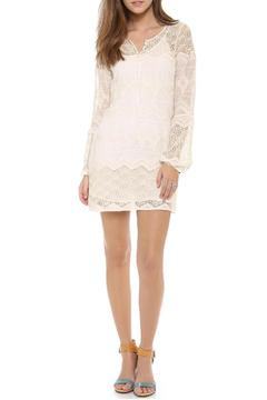 Shoptiques Product: Lace Bell Shirtdress