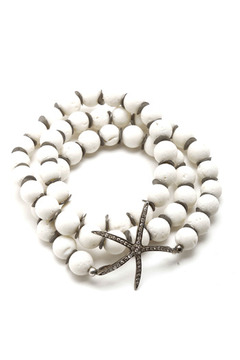 Shoptiques Product: Starfish Wrap Bracelet