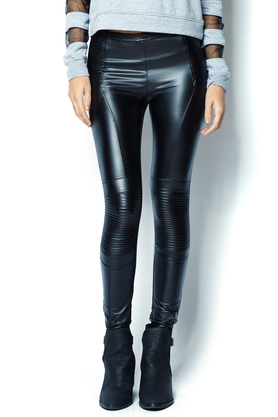 MinkPink Faux Leather Moto Leggings from New Jersey by JAX ...