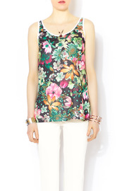 Glamorous Floral Mesh Jersey - Front cropped