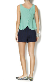 Byrds Mint Fashionable Tank - Side cropped