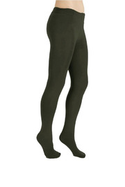 Plush Fleece Lined Tights - Product Mini Image