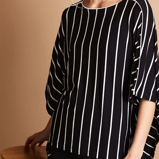 Striped Tunic Top - Instagram Image