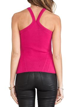 CUT25 BY YIGAL AZROUEL Racerneck Knit Top - Alternate List Image