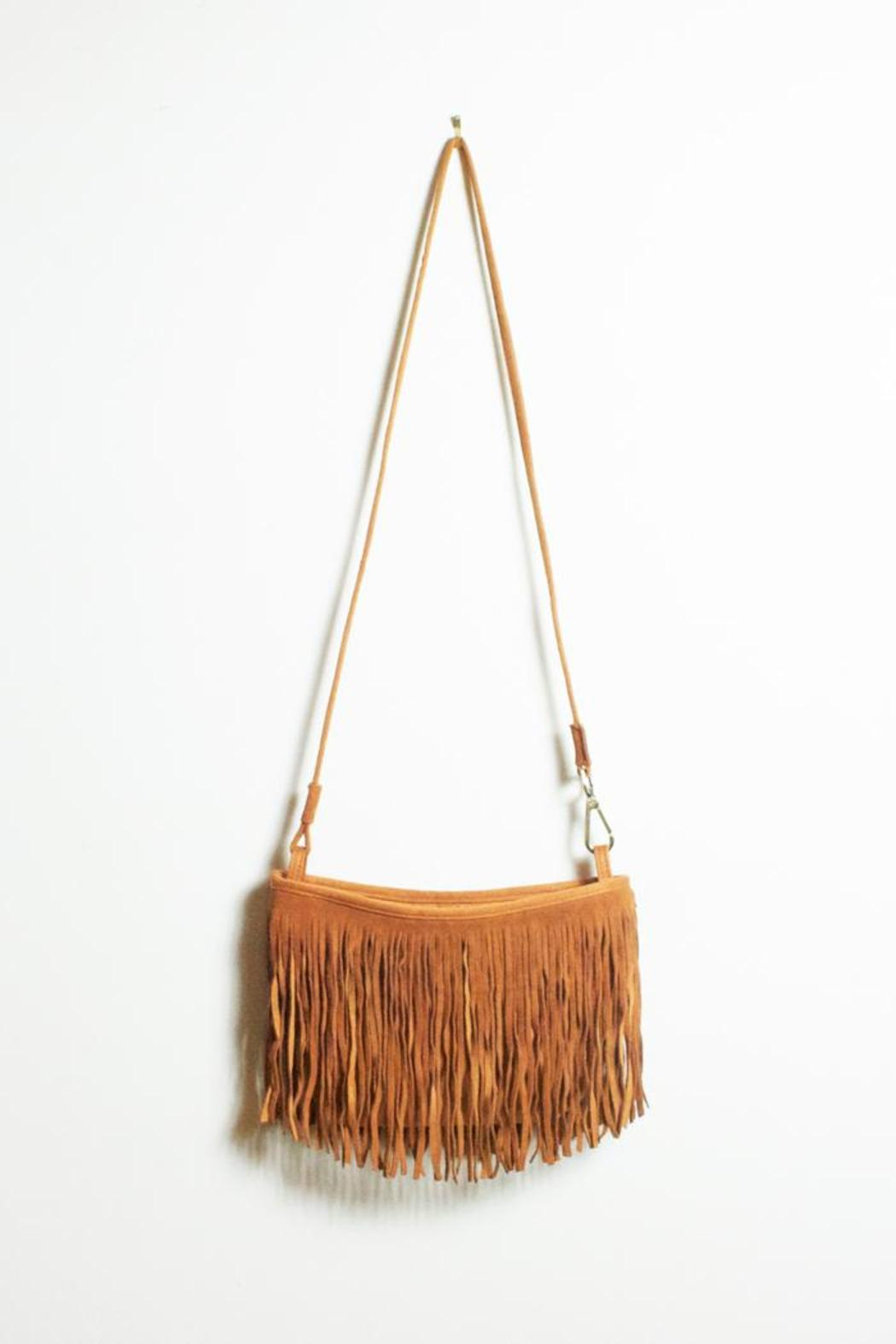 Street Level Boho Fringe Bag From Iowa