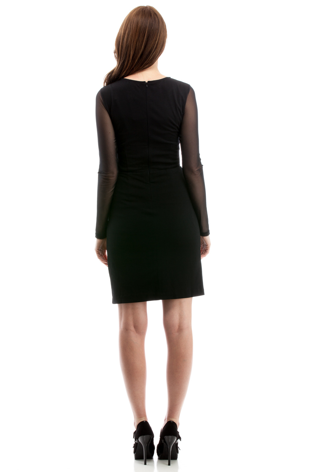 THML Clothing Cocktail Dress - Back Cropped Image
