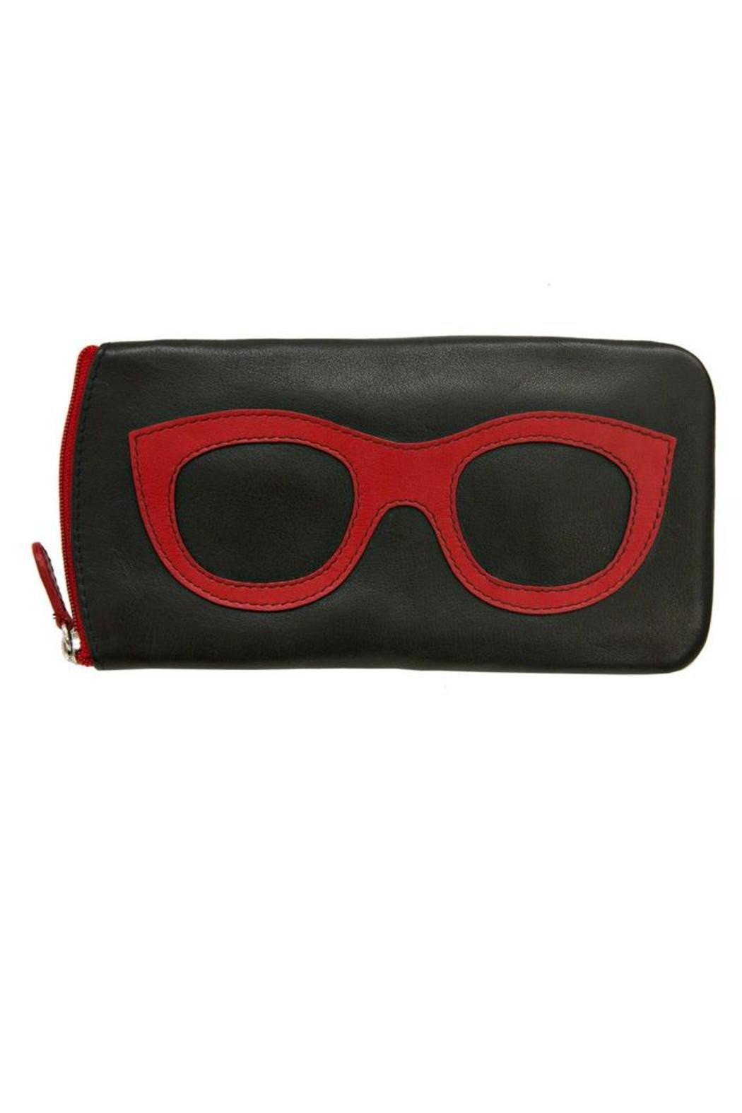 International Leather Leather Eyeglass Case - Main Image