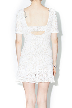 Bonded Ivory Lace Dress - Alternate List Image