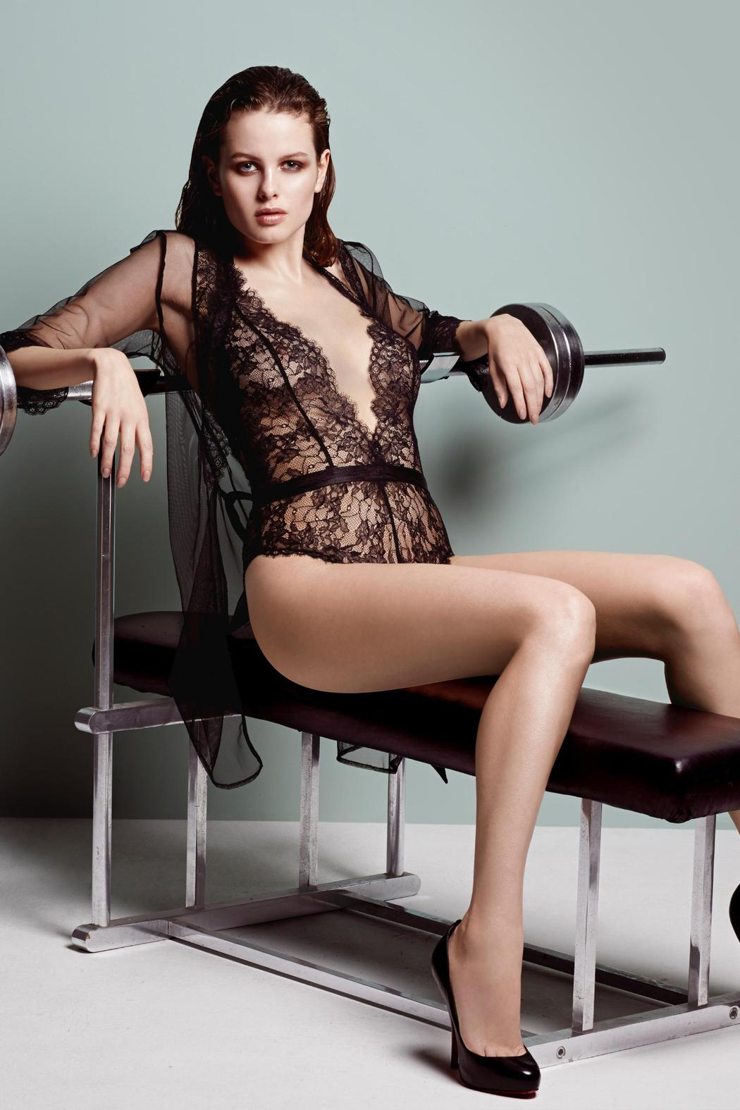 9dfa514114 L Agent by Agent Provocateur Idalia Playsuit from Florida by The ...