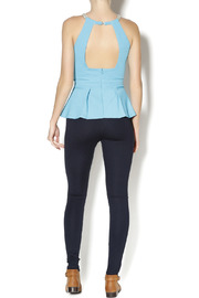 Lyssé Navy Leggings - Side cropped