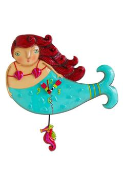 Allen Designs Studio Ruby Mermaid Clock - Alternate List Image