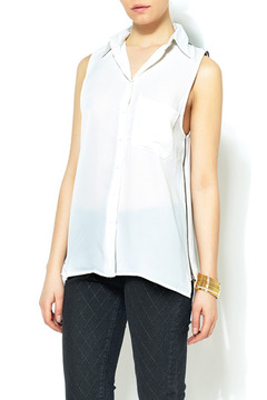 KLD Signature Exposed Zipper Top - Product List Image