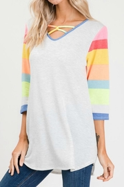 Lovely Melody 1/2 Sleeve Top - Product Mini Image