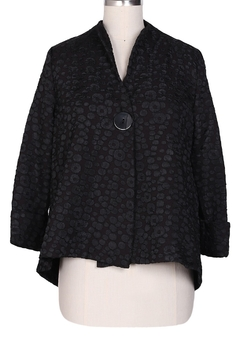 Yushi 1 Button 3/4 Sleeve Jacket - Product List Image
