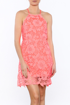 Shoptiques Product: Coral Crochet Dress