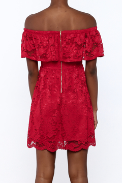1 Funky Red Lace Dress - Alternate List Image