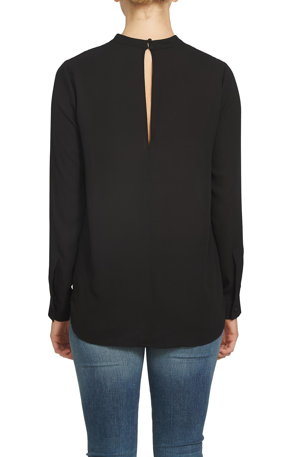 1.State Bar Neck Blouse - Front Full Image